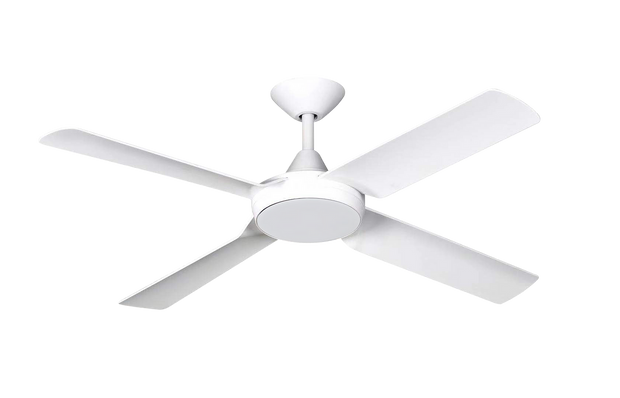 New Image 52 DC Ceiling Fan White - 18w LED Light