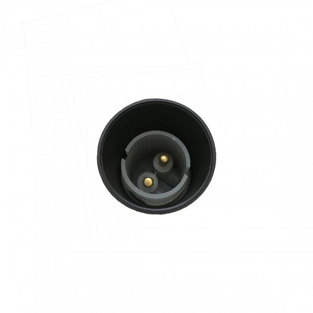 Lampholder 10mm Black