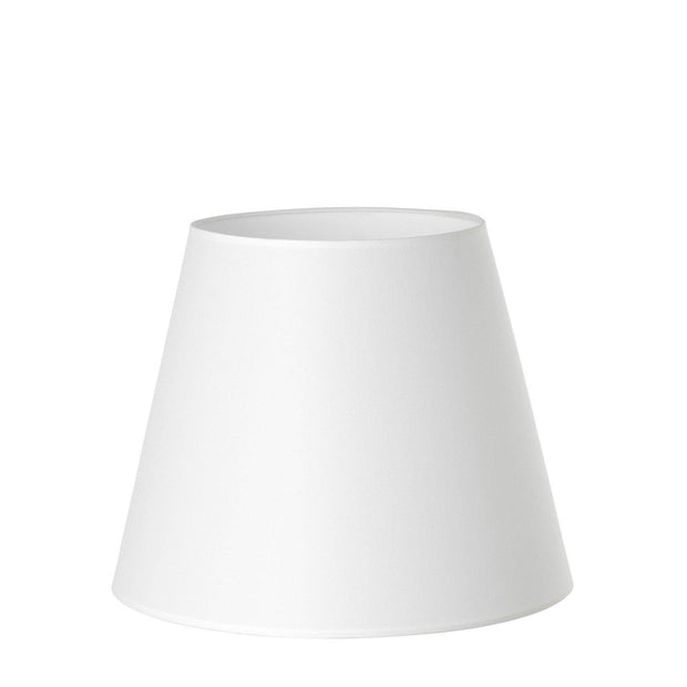 11.14.12 Tapered Lamp Shade - C2 Red Hessian - Lighting Superstore