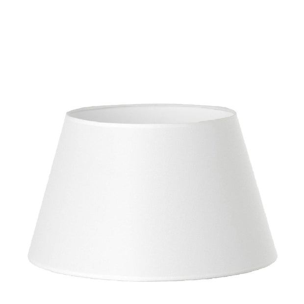 11.16.10 Tapered Lamp Shade - C1 White