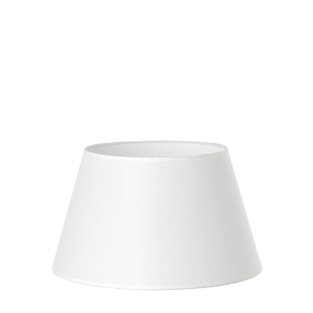 7.11.7 Tapered Lamp Shade - C1 White