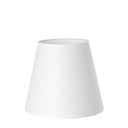 8.12.12 Tapered Lamp Shade - C1 White
