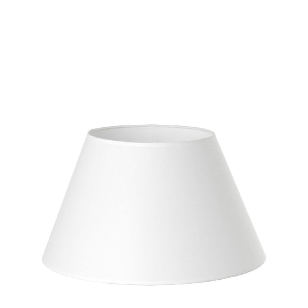 9.16.11 Tapered Lamp Shade - C1 White