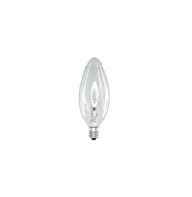 40w Small American Standard Edison Screw (E12) Candle Incandescent - Lighting Superstore