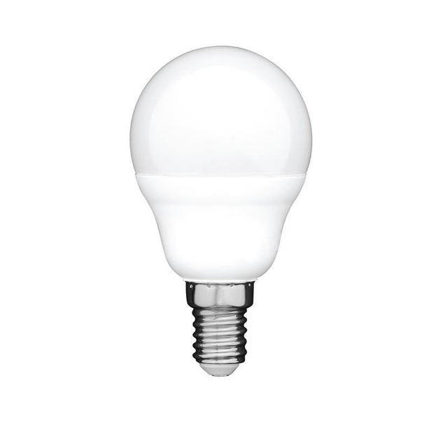 6w Small Edison Screw (SES) LED Cool White Fancy Round Dimmable - Lighting Superstore