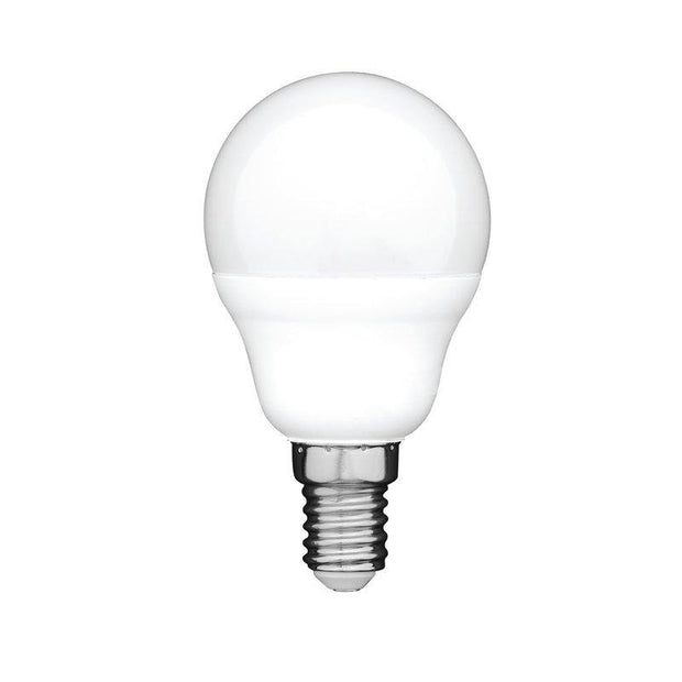 6w Small Edison Screw (SES) LED Daylight Fancy Round Dimmable - Lighting Superstore