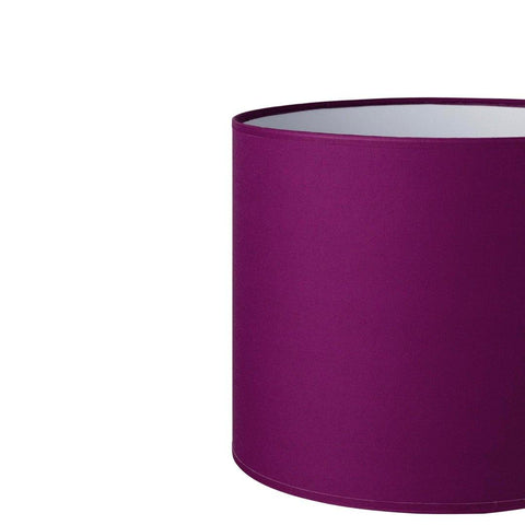 16.16.8 Cylinder Lamp Shade - C1 Eggplant - Lighting Superstore