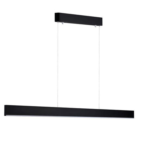 Sword 64w LED Pendant Light Black - Warm White