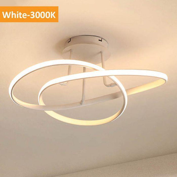 Suko LED Close to Ceiling Light White - Warm White - Lighting Superstore
