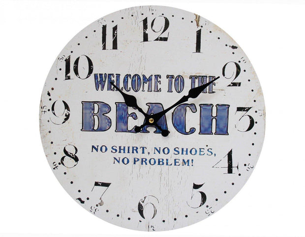 Welcome to the Beach Clock - Lighting Superstore