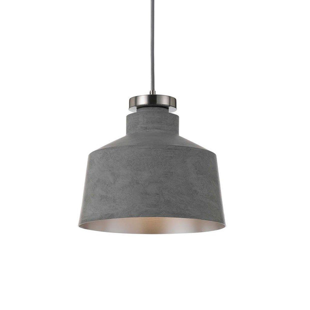 Fredi Pendant Light Grey Round - Lighting Superstore