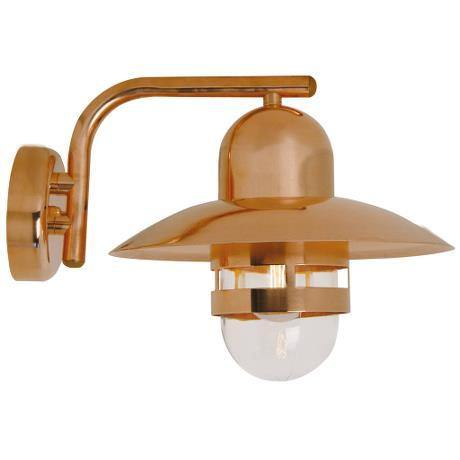 Nibe Exterior Wall Light Copper - Lighting Superstore