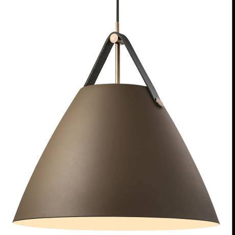 Strap 48 Pendant Light Beige - Lighting Superstore