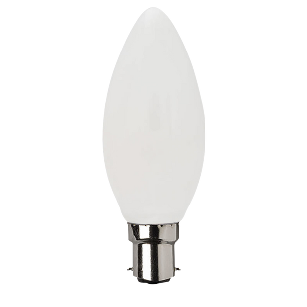 4w Dimmable Small Bayonet (SBC) LED Daylight Candle - Lighting Superstore