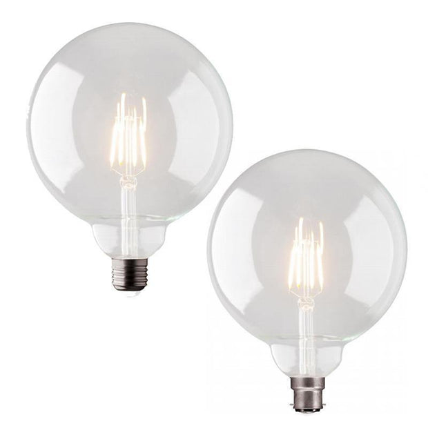 4w Edison Screw (ES) LED Carbon Filament G150 - Lighting Superstore
