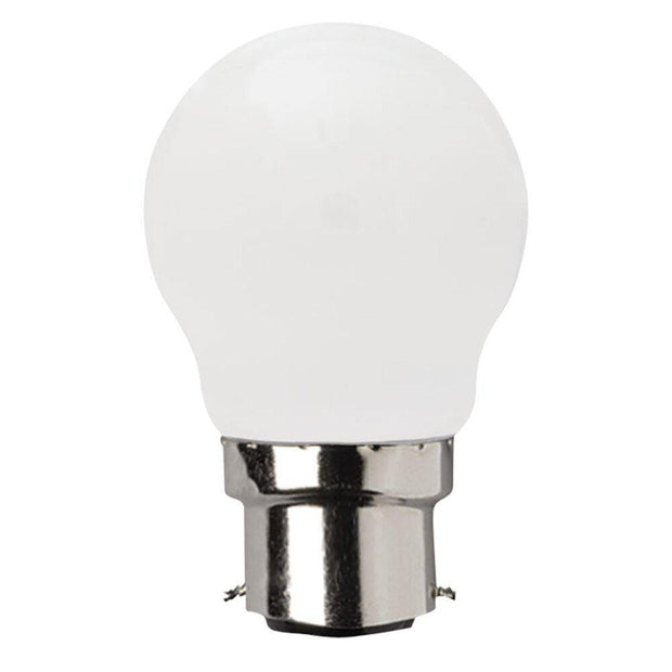 4w Dimmable Bayonet (B22) LED Warm White Fancy Round - Lighting Superstore