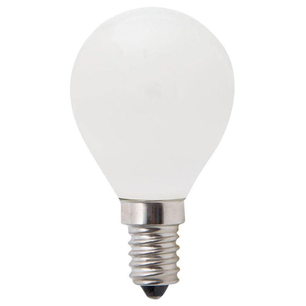 4w Dimmable Small Edison Screw (SES) LED Warm White Fancy Round - Lighting Superstore