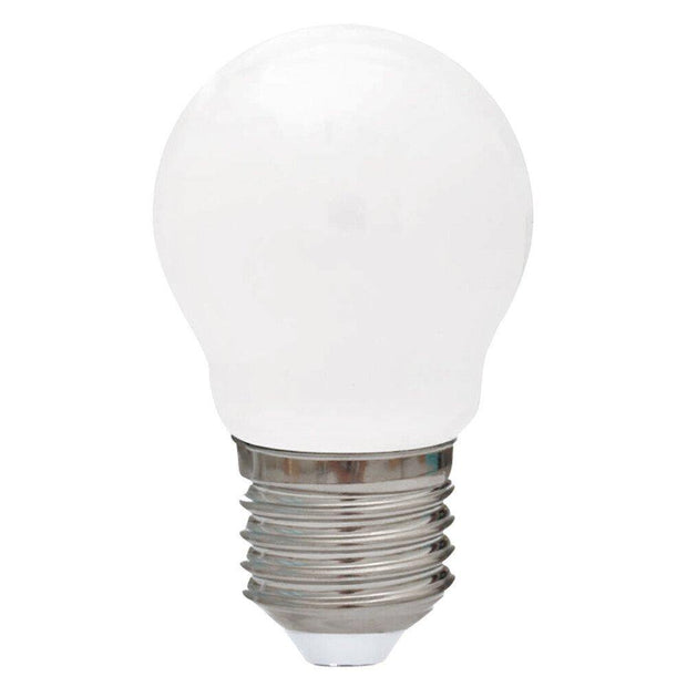 4w Dimmable Edison Screw (ES) LED Daylight Fancy Round