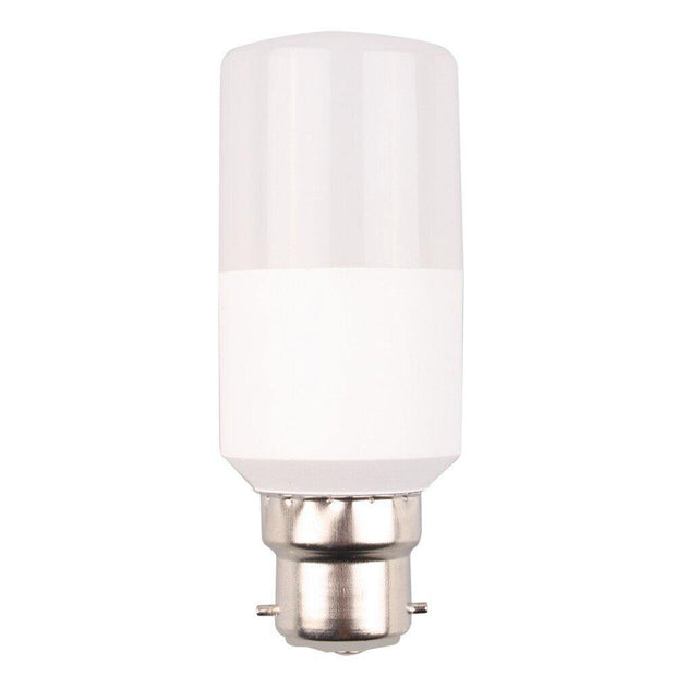 9w Bayonet (BC) LED Warm White Tubular - Lighting Superstore