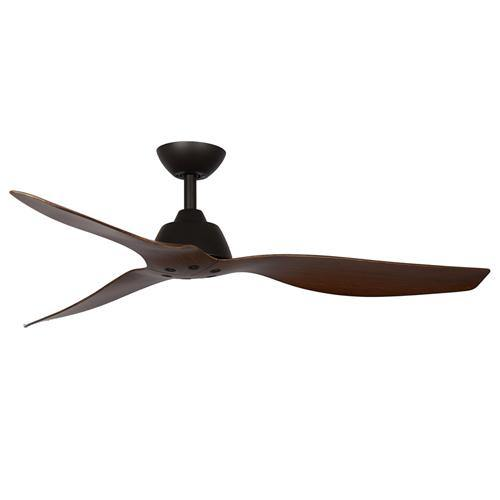 Malibu 52 DC Ceiling Fan Walnut