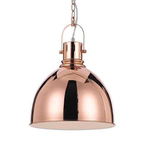 Market Dome Pendant Light Copper - Lighting Superstore