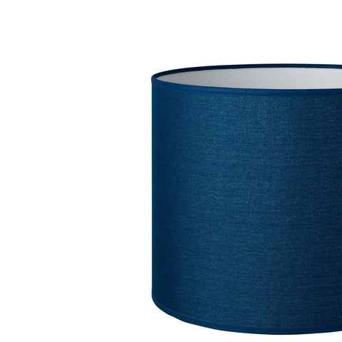 10.12.8 Tapered Lamp Shade - C2 Navy Hessian - Lighting Superstore