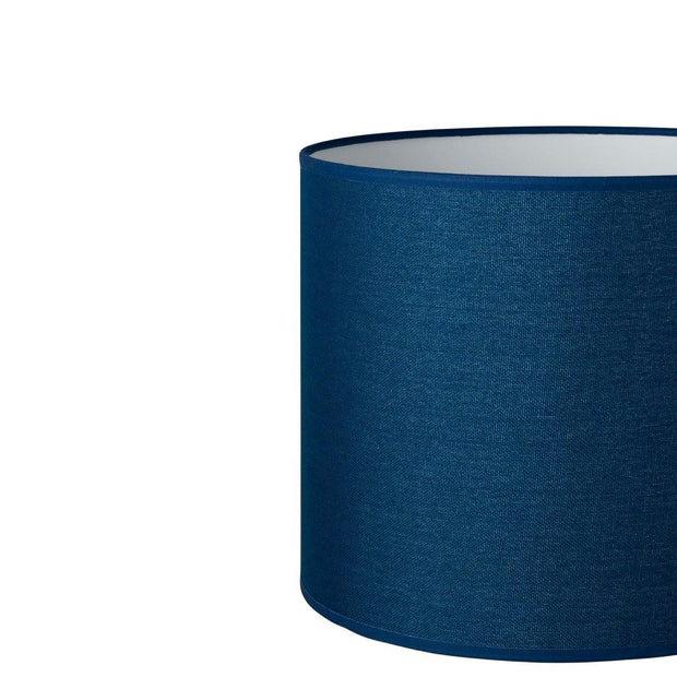 14.14.11 Cylinder Lamp Shade - C2 Navy Hessian - Lighting Superstore