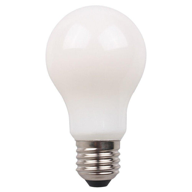 8w Edison Screw (ES) LED Daylight 950lms A60 Classic Dimmable Frost Filament