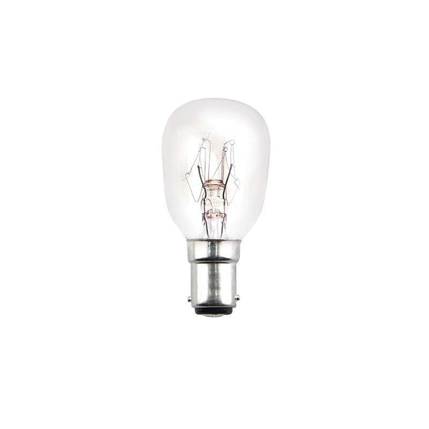 25w Small Bayonet (SBC) Piolet Incandescent Globe - Lighting Superstore
