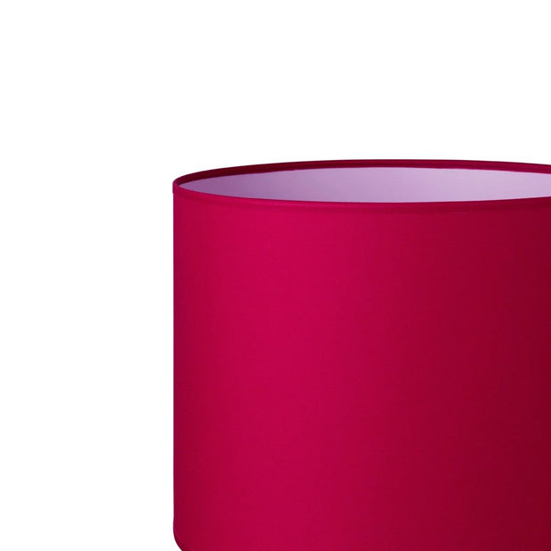 6.6.18 Cylinder Lamp Shade - C1 Pomegranate