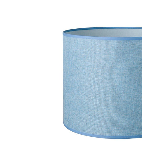 18.18.14 Cylinder Lamp Shade - C2 Powder Blue - Lighting Superstore
