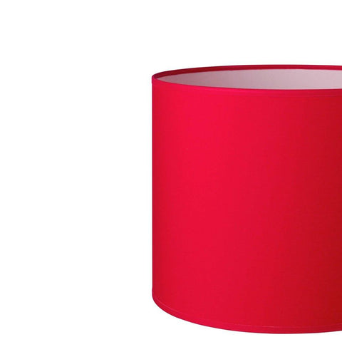 12.12.9 Cylinder Lamp Shade - C1 Red - Lighting Superstore