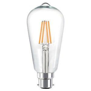 4w Bayonet (BC) LED Carbon Filament Pear Warm White - Lighting Superstore