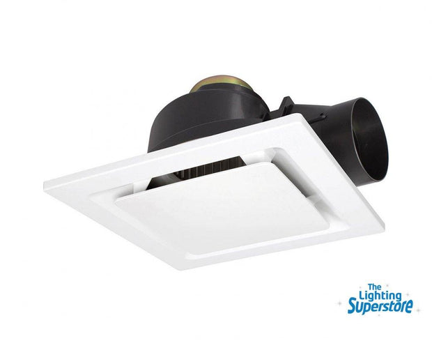 Sarico II Square Exhaust Fan White - Small