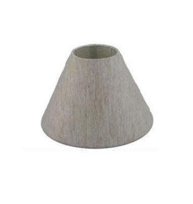 5.14.10 Tapered Lamp Shade - Black Suede