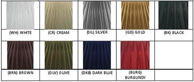 7.15.10 Pleated Lamp Shade - Olive - Lighting Superstore