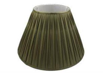 7.15.10 Pleated Lamp Shade - Dark Blue