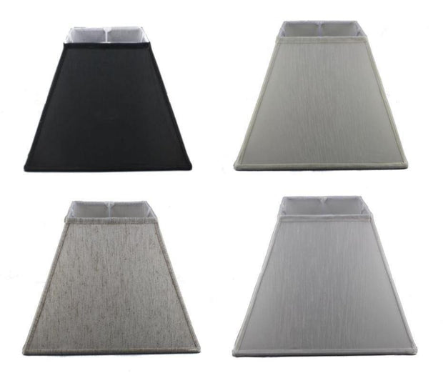 7.14.11 Square Lamp Shade - Black - Lighting Superstore