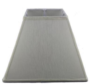 12.16.12 Square Lamp Shade - White - Lighting Superstore