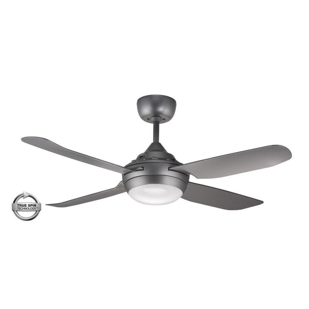 Spinika 52 Ceiling Fan Titanium - 20w LED Light - Lighting Superstore