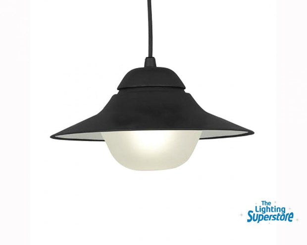 Spy Exterior Pendant Light Black