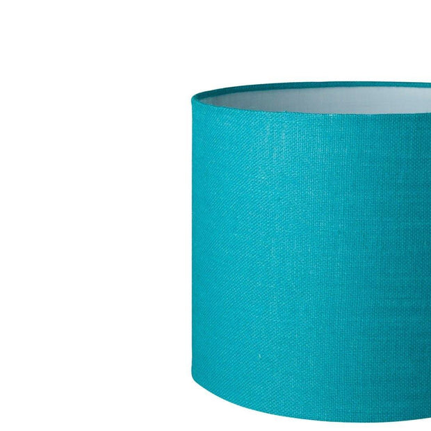 8.12.12 Tapered Lamp Shade - C2 Turquoise