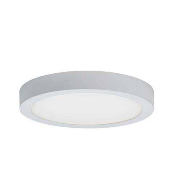 Unos LED Oyster Light Round Warm White - Lighting Superstore