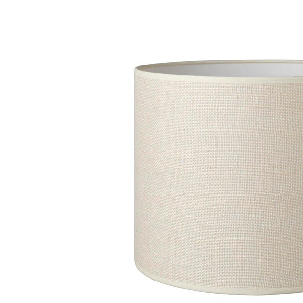 24.24.12 Cylinder Lamp Shade - C2 Vanilla Hessian - Lighting Superstore