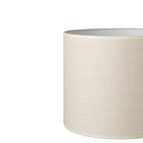 6.7.7 Tapered Lamp Shade - C2 Vanilla Hessian - Lighting Superstore