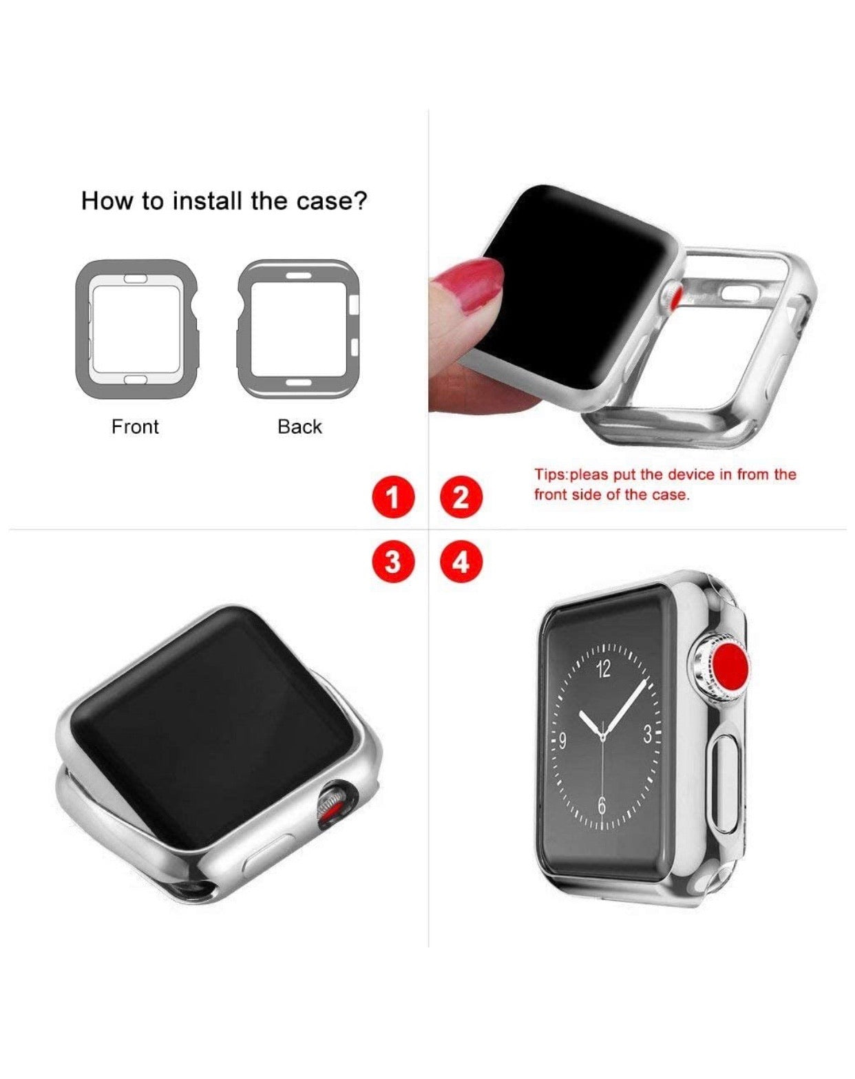 Glam Case: Silver