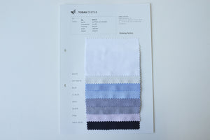 Yarn Dyed Cotton Oxford〈Swatch〉