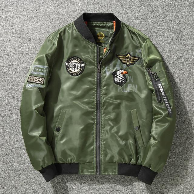 Corporal's Classic Bomber Jacket - Vincere