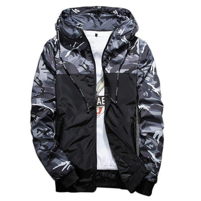 Atomic Camo Windbreaker Jacket - Vincere