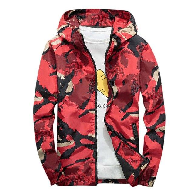 Camo Ultima Windbreaker Jacket - Vincere